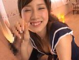 Minami Kojima has a hot group sex session! picture 14