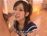Minami Kojima has a hot group sex session! picture 3