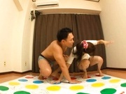 Rei Mizuna Japanese doll gets her wet snatch licked
