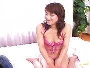 Japanese MILF With A Tight Shaved Pussy Drilled