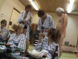 Group Of Hot Japanese AV Models Munch Carpets picture 12