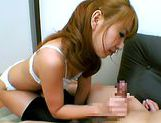 Rion Oqura Asian babe gives sensual blowjobcute asian, asian schoolgirl}