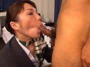 Hot Stewardess Yuuna Takizawa Sucks Three Guys Offhot asian pussy, japanese pussy}