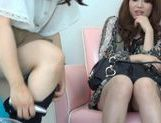 Japanese girls have fun riding a hot guys stiff dick picture 8