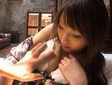 Syoko Akiyama Asian babe fondles her pussy picture 13