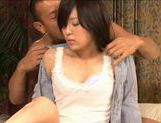 Tiny teen Rin Sakuragi got doggy styled hard and fast picture 8