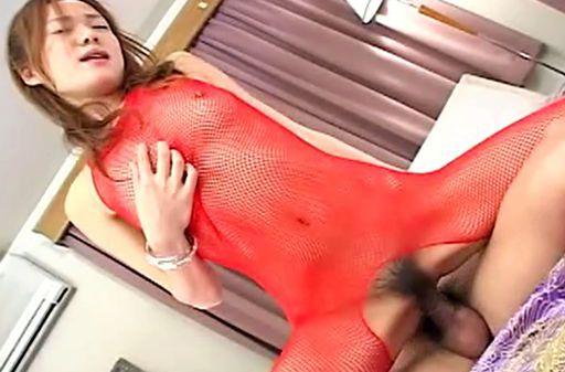 Kinky Japanese model swallows piles of cum