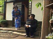 Mature Woman In A Kimono Fucks Herself With A Vibrator