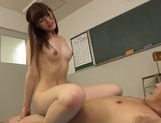 Hot teacher, Kanako Iioka, takes on a younger studentasian ass, asian schoolgirl, asian babe}