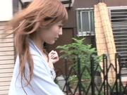 Suzuka Miura fresh Asian call girl has tight pussy plowed