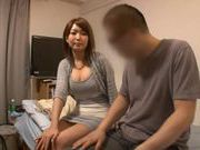 Horny MILF Yuna Hasegawa gets fucked well from her sex buddy