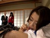 Hot milf Kamika Ichijou pleases her naughty boss picture 9