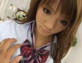 Risa Tuskino Asian student is fucked in school uniform