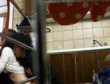 Horny Harumi Asano hardcore group sex! picture 13