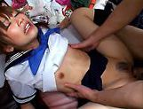Chika Eiro in sexy uniform enjoys some group sex!asian chicks, asian wet pussy}