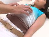Charming Japanese teen Miwa Ikeuchi enjoys sexy massage picture 11