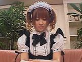 Hot Asian Maid Kokomi Naruse Banged picture 3