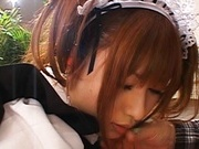 Hot Asian Maid Kokomi Naruse Banged