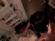 Hot milf Nishi Azabu masturbation and hard rear fucking
