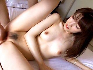 Very sexy Asian stunner Ayu Sakurai enjoys dick in her slit