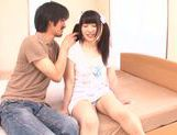 Cute Japanese teen Rino Yoshihara enjoys a good fuck picture 13