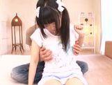 Cute Japanese teen Rino Yoshihara enjoys a good fuck picture 15