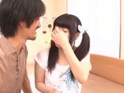Cute Japanese teen Rino Yoshihara enjoys a good fuck