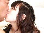 Stunning brunette Rico Yamaguchi has the perfect looking for a good fuck.