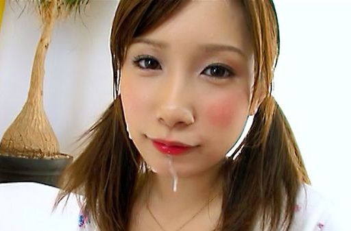 First lesson at giving good blowjob for eager Minami Kojima