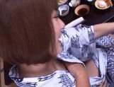 Yuma Asami hot doggy style action picture 15