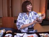 Yuma Asami hot doggy style action