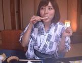 Yuma Asami hot doggy style action picture 6