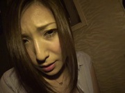 MILF Yuna Shiina Masturbates While Waiting For Her Facial