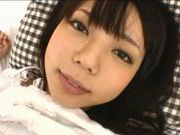 Sexy Yuria Ayane gets cum on her face!
