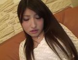 Playful Asian amateur Saki Kobashi gets masturbated picture 5