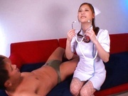 Nurse Nozomi Nishiyama hardcore sex!