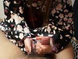 Fucking Shizuku Hasegawa in her kimono with sexy creampied pussy end picture 13