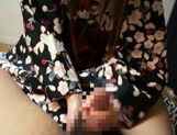 Fucking Shizuku Hasegawa in her kimono with sexy creampied pussy end picture 14