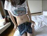 Japanese AV Model amazing teen in amateur cock sucking