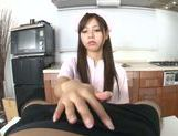 Nurse Ria shows off her skilled hands with a POV handjob picture 12
