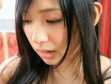 Nana Ogura gets cum on her face! picture 11
