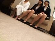 Japanese AV models are hot and horny