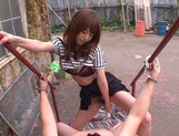 MILF Tsubomi Rides A Dick In Public In A POV Sex Video picture 5
