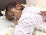 Maho Uruya absolutely pounded by cock! picture 8