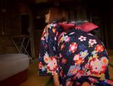 Gorgeous Akina Strips Out Of Her Silky Kimono picture 10