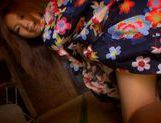Gorgeous Akina Strips Out Of Her Silky Kimono picture 11