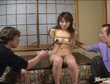 Horny Asian gets her pussy hammered!