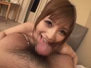 Suzuka Miura Amateur Asian pornstar sucks cock on camerayoung asian, cute asian}