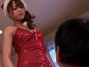 Horny Akiho Yoshizawa gives a nice handjob!
