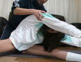 Kurara Asian doll gets her pussy fingered picture 11